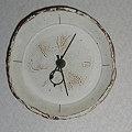 Photos: 皿時計