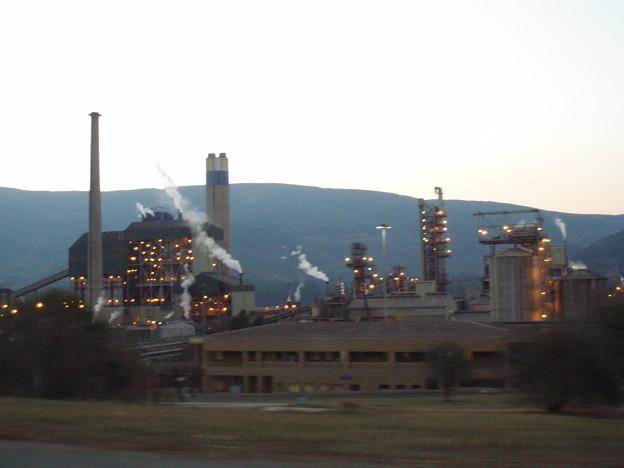 ムプマランガ 製紙工場