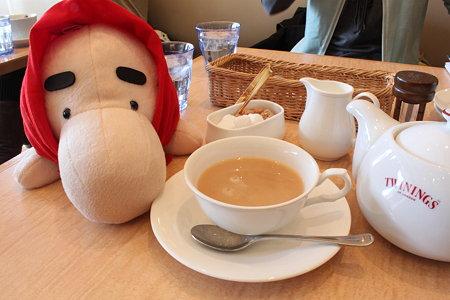 紅茶をどうぞ どせいさん border=
