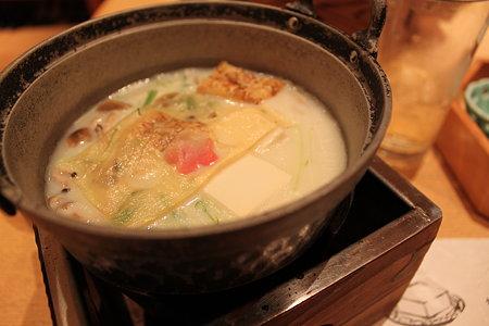 京とうふの豆乳小鍋