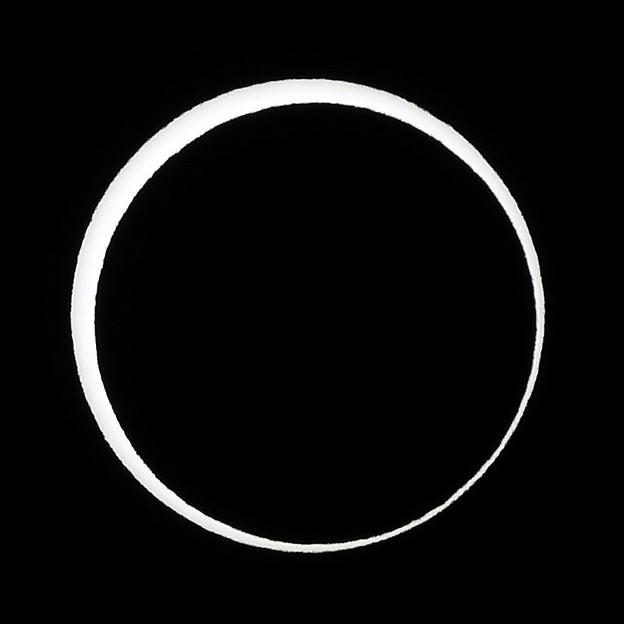 Photos: 長野南部での金環日食~♪