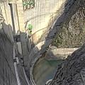 小渋ダム。