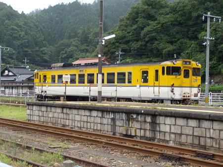 津和野駅留置中のキハ40