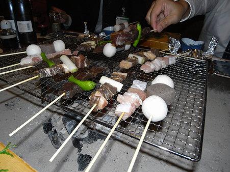 鹿、猪、名古屋コーチン、里芋