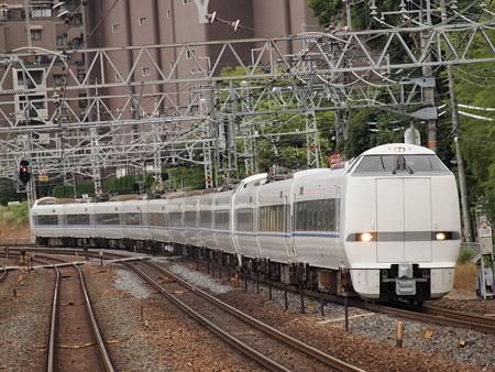 683系 特急サンダーバード 東海道本線山崎駅