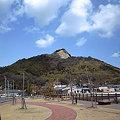 写真: 弓削島