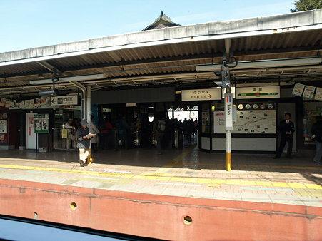高尾駅1(ホリデー快速河口湖1号の車窓)