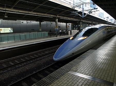 500系(新横浜駅)1
