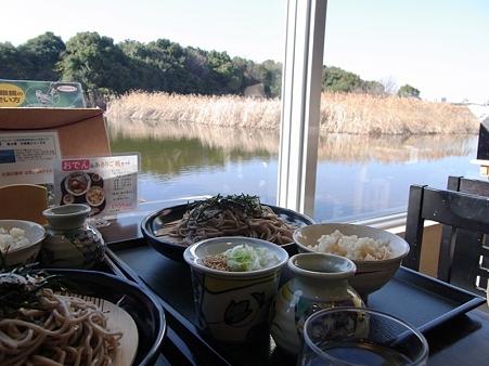 20100123 谷津干潟 干潟セットと淡水池