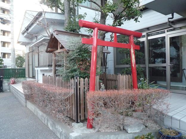 稲荷社(屋敷神 板橋区蓮沼町) 1
