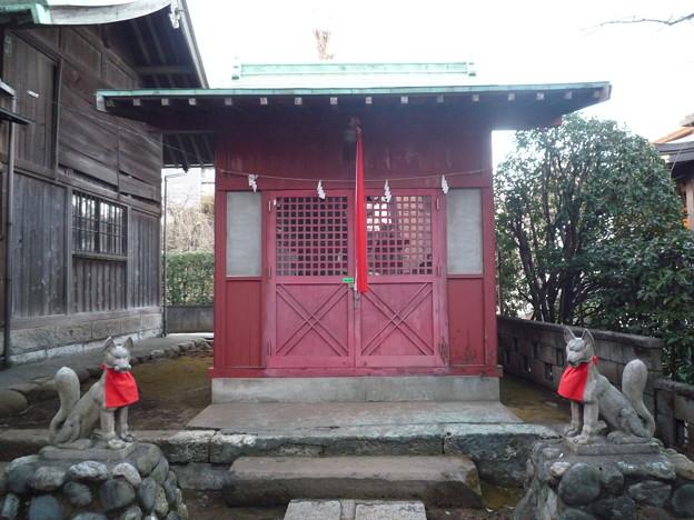 稲荷神社(蓮沼氷川神社 内) 4