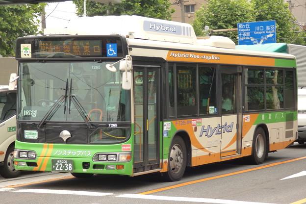 都バスのBRCハイブリッドノンステ車?