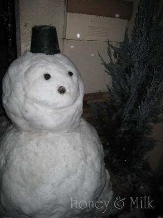 雪だるまIMG_7983