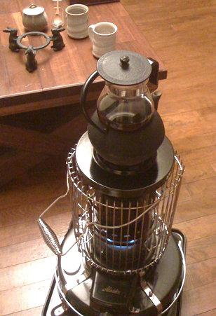 アラジン南部鉄瓶即席コーヒーウォーマー