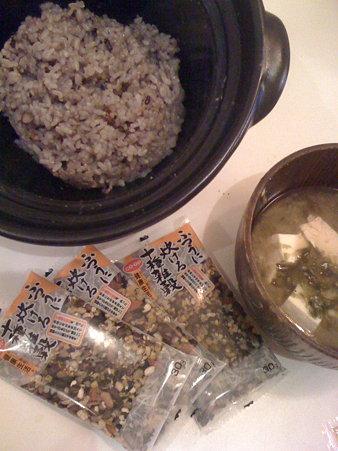 生協の玄米雑穀御飯