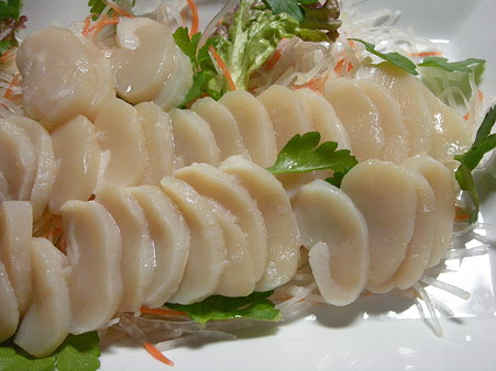 たいらぎ貝の貝柱