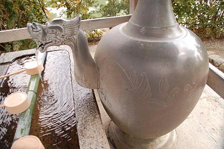 法隆寺 西院手水舎