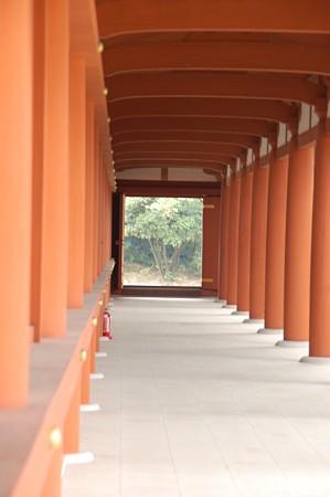 奈良 薬師寺回廊