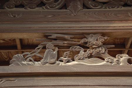 東大寺 観音堂(二月堂)手水舎の彫刻