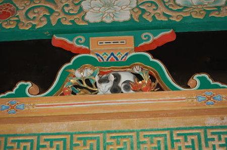 日光東照宮 左甚五郎眠り猫
