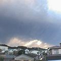 写真: 【新燃岳の噴火】宮崎市の様子3