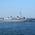 護衛艦いかづち(国際観艦式予行)