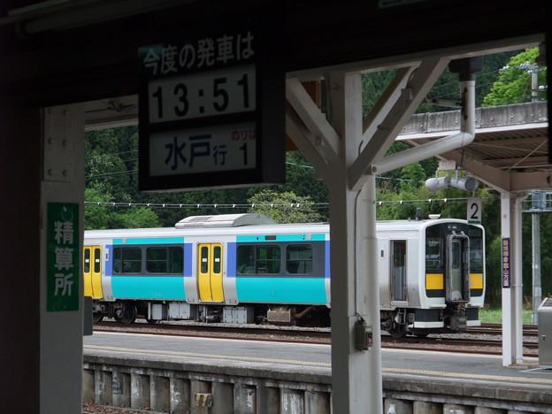 水郡線 常陸大子駅 キハE130系
