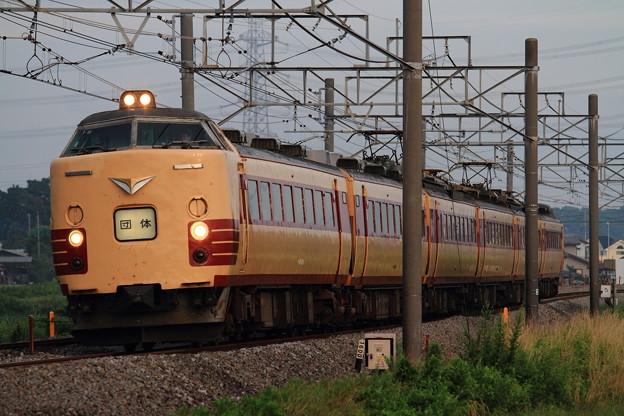 2012年7月16日485系T18