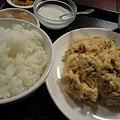 Photos: 神保町の蟹卵炒め定食
