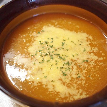 にんじんりんごスープ