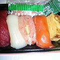 写真: 親父が握る生寿司
