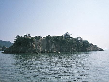 弁天島/仙酔島渡船から