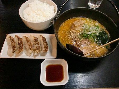 ランチセット 味噌