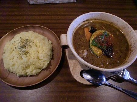 SPICE POT 豚角煮と野菜+ライスL