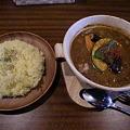 Photos: SPICE POT 豚角煮と野菜+ライスL