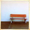 写真: A Bench by the Mall 4-6-12