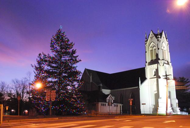 Photos: First Parish Congregational Church 12-4-08