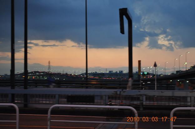 千住新橋の夕景_DSC_3978