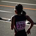 写真: 走る人