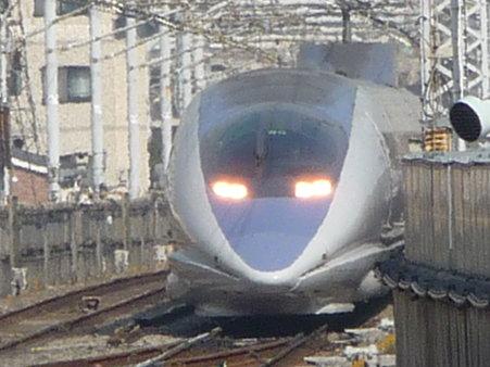 100224-新幹線 新横500下り 到着 (3)