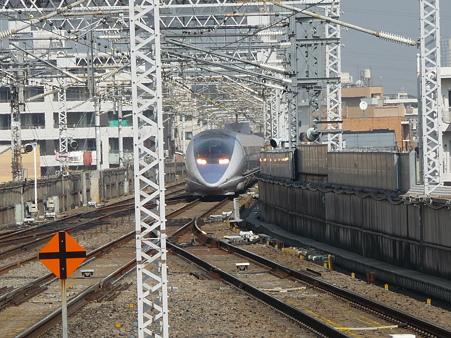 100224-新幹線 新横500下り 到着 (4)