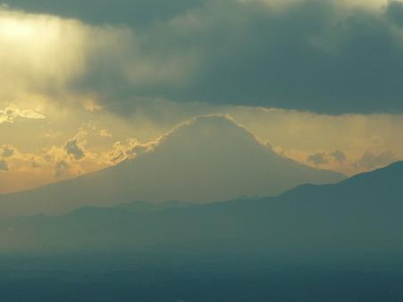 100310-富士山と夕陽 (2)