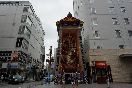 04 2014年 博多祇園山笠 飾り山笠 賤ヶ岳之戦壽 中洲流 (3)
