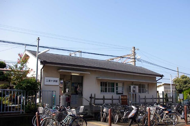 南海・加太線、二里ヶ浜駅