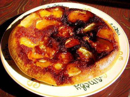 りんごのキャラメルケーキ