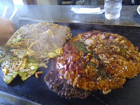 大阪屋のお好み焼き