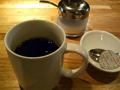 コーヒーもついてます。