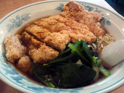 排骨麺(パイコーめん)