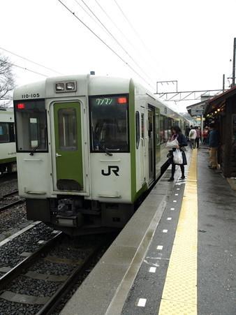 キハ110系(小淵沢駅)