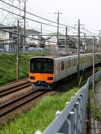 東武50000系(つくし野駅付近)4